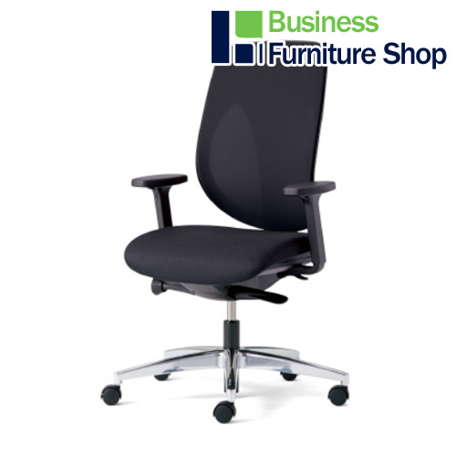 事務イス ジロフレックス 353-8028RS BK パソコンチェア デスクチェア 椅子 (オフィス 事務所)