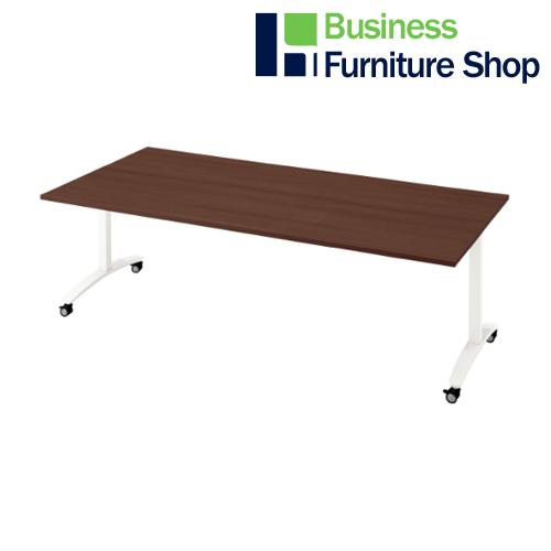 ロンナ 会議テーブル NN-2110TKR LM/W4(オフィス 事務所)