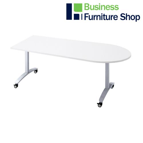 ロンナ 会議テーブル NN-1507TKU W4/M4(オフィス 事務所)
