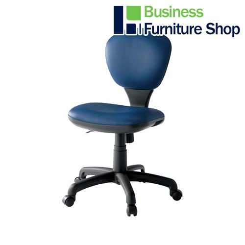 ☆事務イス C303J ネイビー パソコンチェア デスクチェア 椅子 (オフィス 事務所)