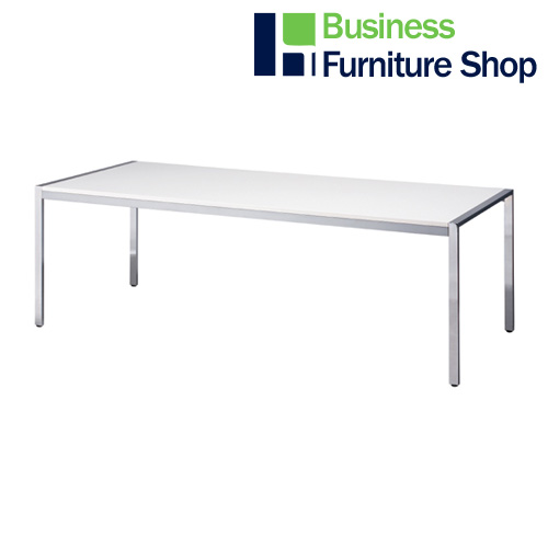 テーブル KE-2190W ホワイト(オフィス 事務所)
