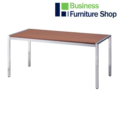 テーブル KE-1575WN ウォールナット(オフィス 事務所)