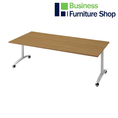 ロンナ 会議テーブル NN-2110TKR T2/M4(オフィス 事務所)