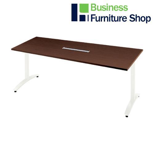 ロンナ 会議テーブル NN-1809TADH LM/W4(オフィス 事務所)
