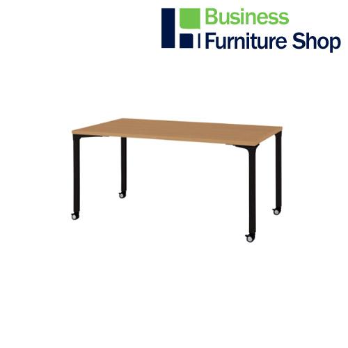 ロンナ 会議テーブル NN-1509PKR T2/BK(オフィス 事務所)
