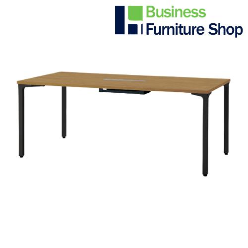 ロンナ 会議テーブル NN-1809PARH T2/BK(オフィス 事務所)