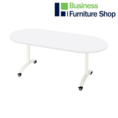 ロンナ 会議テーブル NN-1809TKO W4/W4(オフィス 事務所)