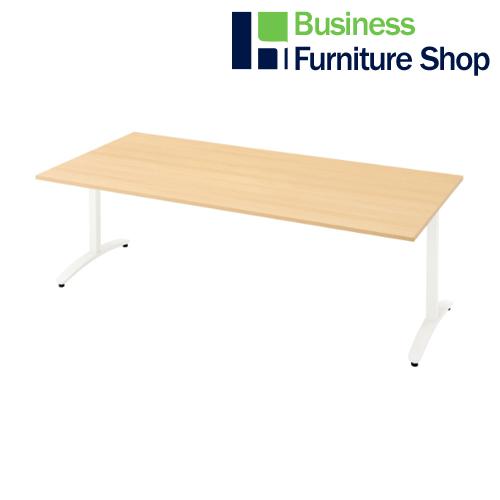 ロンナ 会議テーブル NN-2110TAR WM/W4(オフィス 事務所)