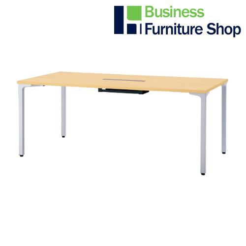 ロンナ 会議テーブル NN-1809PARH WM/M4(オフィス 事務所)