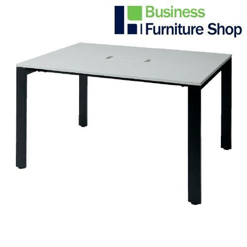 増連型テーブル MR-1212SQH WH/BK(オフィス 事務所)