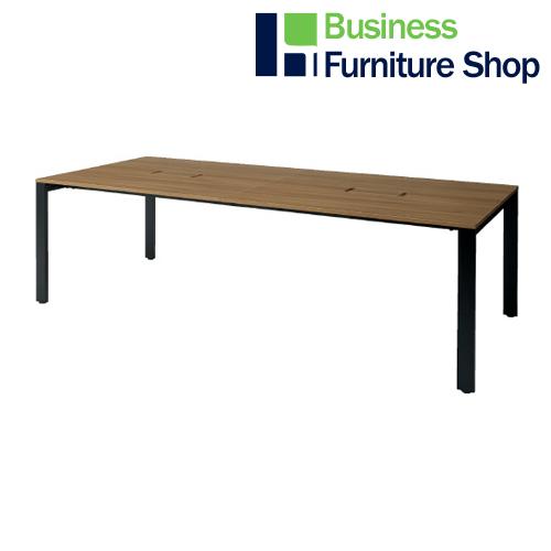 増連型テーブル MR-2412SQH NA/BK(オフィス 事務所)