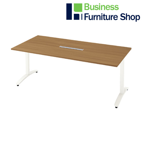 ロンナ 会議テーブル NN-1809TARH T2/W4(オフィス 事務所)