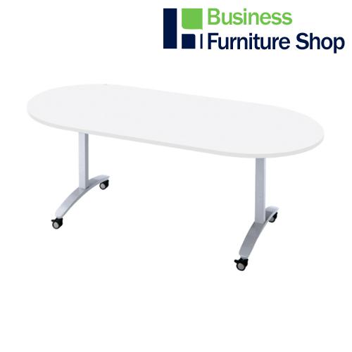 ロンナ 会議テーブル NN-1809TKO W4/M4(オフィス 事務所)