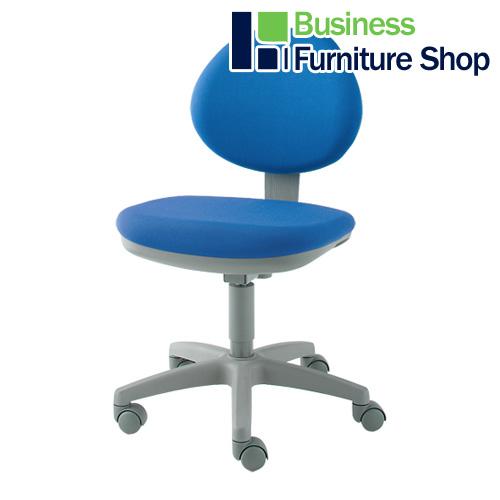 ★事務イス CH-2 ブルー パソコンチェア デスクチェア 椅子 (オフィス 事務所)