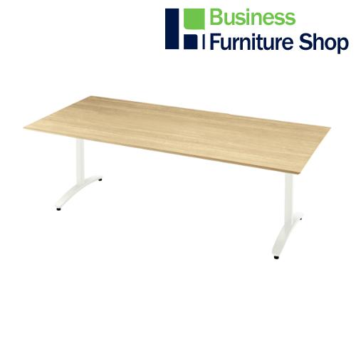 ロンナ 会議テーブル NN-2110S LW/W4(オフィス 事務所)
