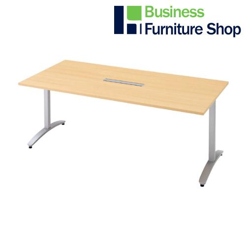 ロンナ 会議テーブル NN-1809TARH WM/M4(オフィス 事務所)