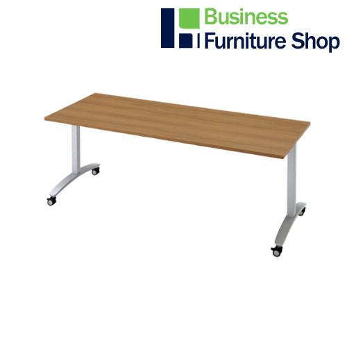 ロンナ 会議テーブル NN-1807TKR T2/M4(オフィス 事務所)