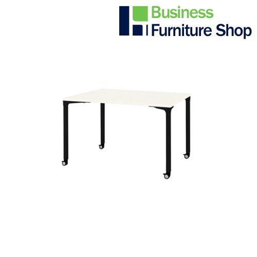 ロンナ 会議テーブル NN-1209PKR W4/BK(オフィス 事務所)