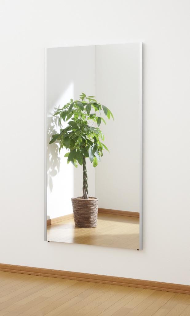 超軽量!くっきり自然な映り!割れない鏡 リフェクスミラー(refex)高さ150×80cm_