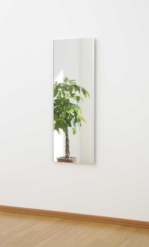 超軽量!くっきり自然な映り!割れない鏡 リフェクスミラー(refex)高さ120×幅45cm_