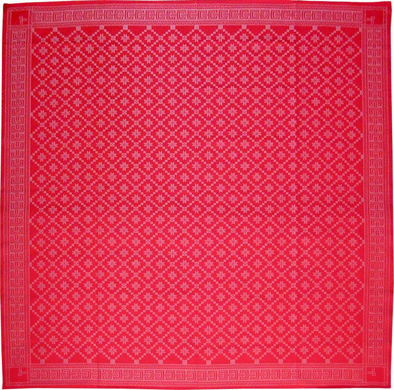 8枚の花弁をもつ薔薇 red(150cm×150cm)【風呂敷専門店ふろしきや】