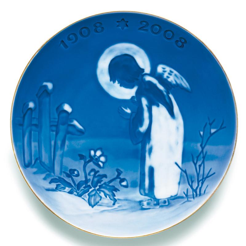 【送料無料】ロイヤルコペンハーゲン (Royal Copenhagen) センテニアルプレート NO,2 (2005年) 100周年記念プレート [1945年版再現 平和のモチーフ]【ロイヤル コペンハーゲン デンマーク お皿】イヤープレート クリスマスプレート 記念品 ギフト 食器