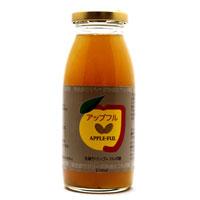 フルボ酸入りのリンゴジュース【ミヤモンテ】アップフル(りんご+フルボ酸 200ml×24本)