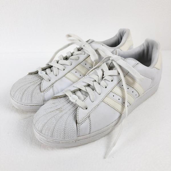 【古着】 adidas アディダス スポーツスニーカー Originals Superstar 2 ホワイト系 メンズ27.5cm n016321