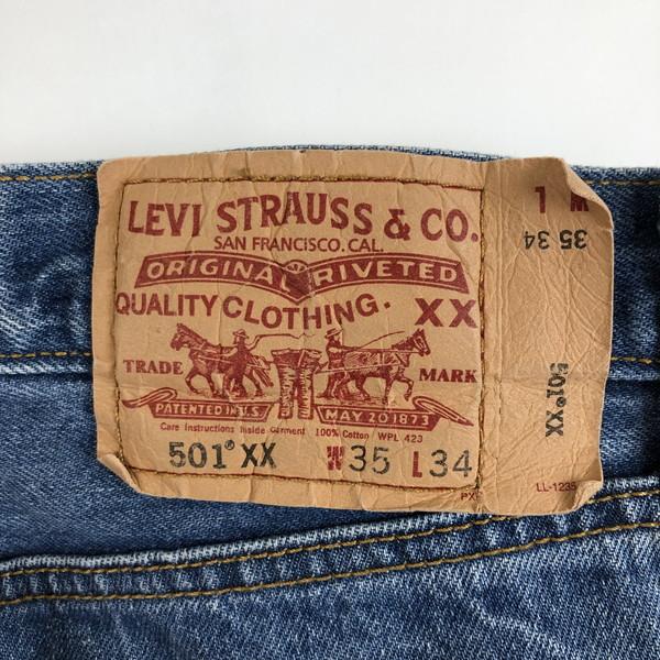 古着Levi's リーバイス リーバイス501 ドミニカ製 ブルー系 メンズW34n019520shCdrxtQ