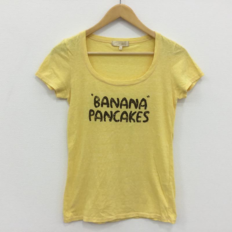 アルバローザ ALBAROSA 表記サイズ:1 黄 本店 イエロー プリント Tシャツ 半袖 中古 10000567 新作 人気 古着 USED