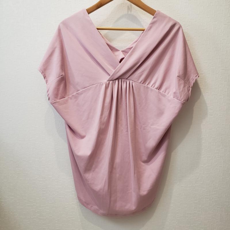 ロージー ROSIEE 表記サイズ:38 桃 ピンク 無地 中古 10002936 驚きの値段で 古着 限定モデル 半袖 USED カットソー
