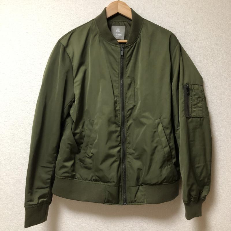 ナノアンドコー nano&co ジャケット、上着 フライトジャケット【USED】【古着】【中古】 10003471
