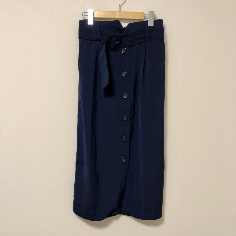 イェッカ ヴェッカ YECCA VECCA 表記サイズ:FREE 藍 ネイビー スカート 10006063 日時指定 USED 中古 ロングスカート 新着セール 無地 古着