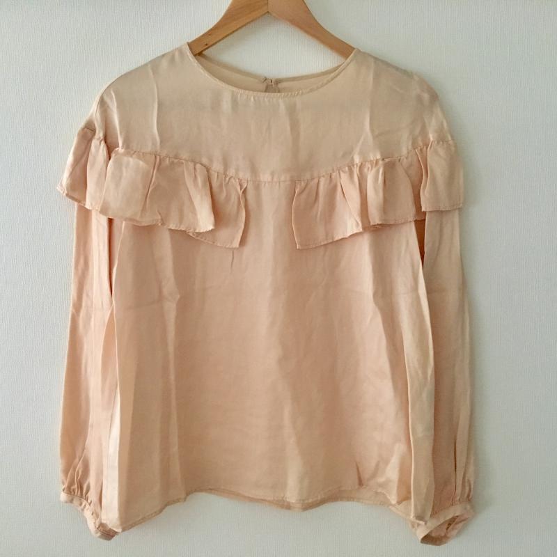 シードレイク Seadrake 表記サイズ:38 桃 激安通販ショッピング ピンク 無地 長袖 シャツ 古着 Blouse USED 10007757 ブラウス Shirt 中古 低価格化