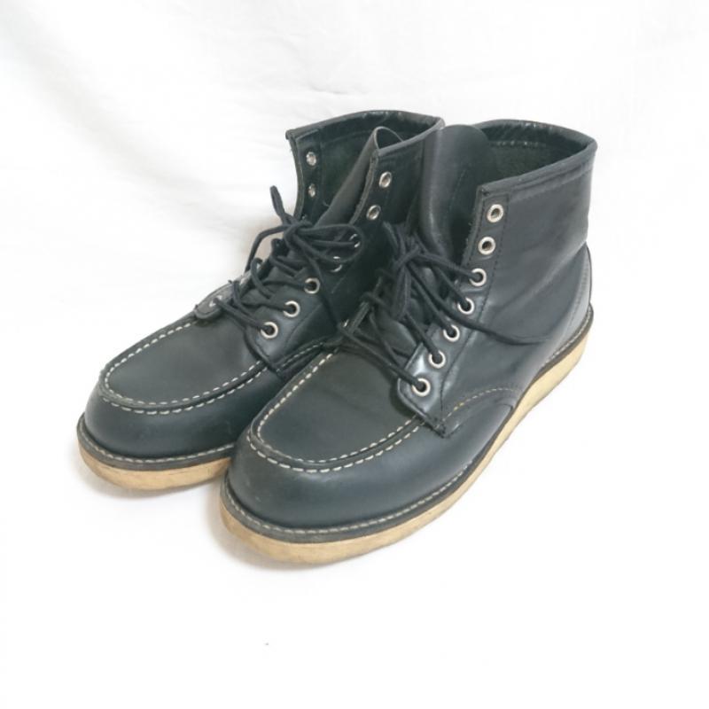 レッドウィング RED WING ブーツ 一般 B130/BLACK/黒【USED】【古着】【中古】 10009545