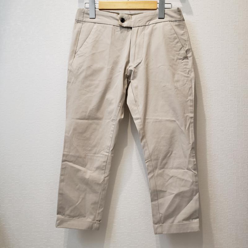 シーホースプ SI-HO SUP 表記サイズ:1 灰 グレー 捧呈 無地 スラックス パンツ 7分丈 中古 古着 10011122 当店は最高な サービスを提供します Trousers Pants USED Slacks