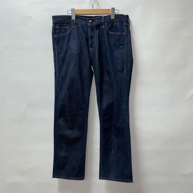 エイチティーシー HTC 表記サイズ:31インチ インディゴ 無地 デニム ジーンズ パンツ Pants Jeans 10011779 USED 中古 古着 Trousers Denim 0622 新作 有名な