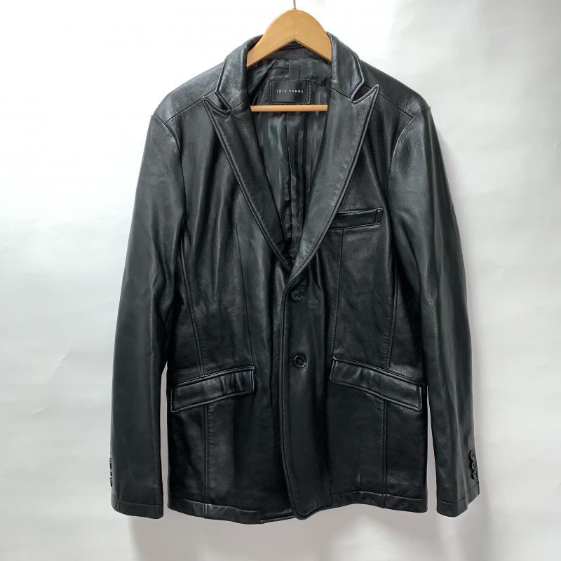 テットオム TETE HOMME ジャケット、上着 ジャケット、ブレザー ラムレザー 羊革【USED】【古着】【中古】 10011872