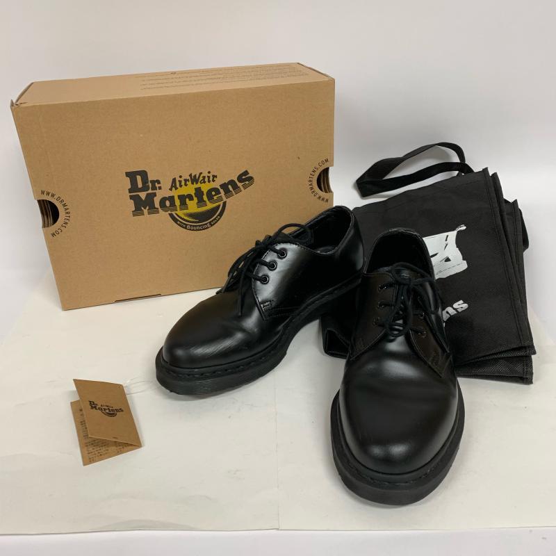 Dr.Martens ドクターマーチン ショートブーツ ブーツ 3ホールブーツ 1461 MONO モノ 14345001【USED】【古着】【中古】10012540