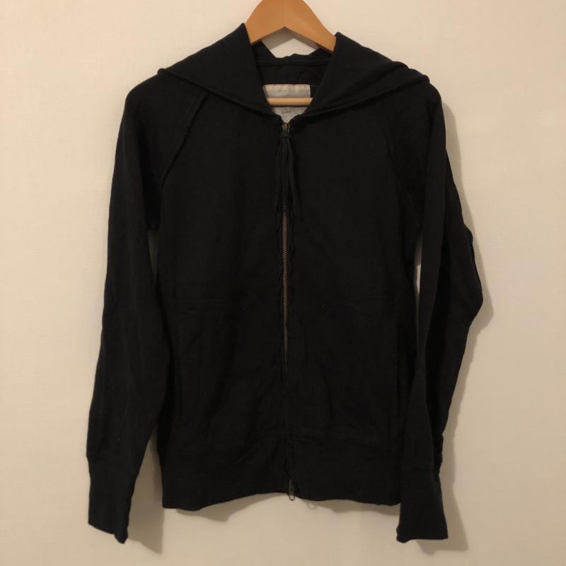 ディモルフォセカ dimorphotheca 表記サイズ:FREE 黒 ブラック 無地 長袖 パーカー Hoodie Hooded 10013812 Sweatshirt USED SALE 安心の定価販売 古着 中古