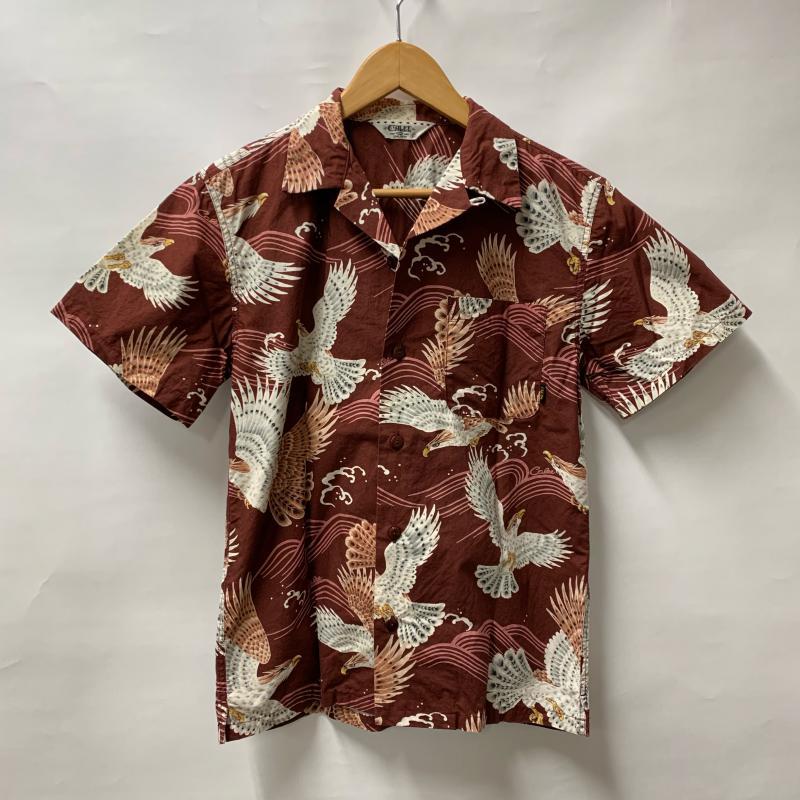 CALEE キャリー 半袖 シャツ、ブラウス アロハシャツ【USED】【古着】【中古】10013921