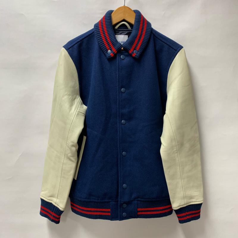 期間限定で特別価格 ビームス BEAMS 表記サイズ:L 紺 ネイビー X 白 ホワイト 開店記念セール 赤 レッド 無地 Jacket USED 上着 その他 中古 古着 ジャンパー 10014700 ブルゾン ジャケット