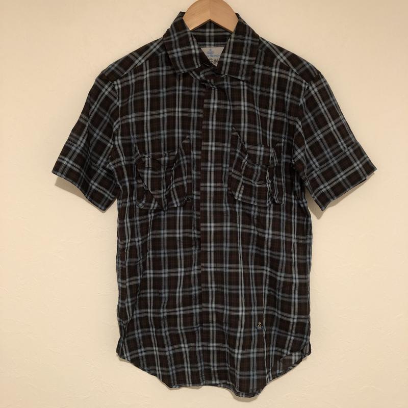 Vivienne Westwood MAN ヴィヴィアンウエストウッドマン 半袖 シャツ、ブラウス Shirt, Blouse 【USED】【古着】【中古】10015316