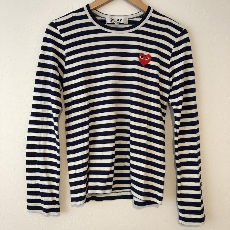 PLAY COMME des GARCONS プレイコムデギャルソン 長袖 カットソー Cut and Sewn 【USED】【古着】【中古】10015326