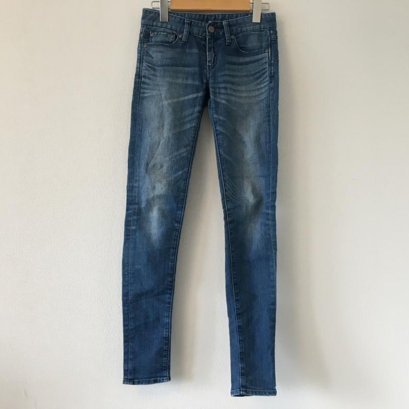 アズールバイマウジー AZUL BY MOUSSY 表記サイズ:表記無し インディゴ 無地 デニム ジーンズ Jeans 中古 USED 気質アップ 10016859 古着 驚きの値段 Trousers Denim Pants パンツ