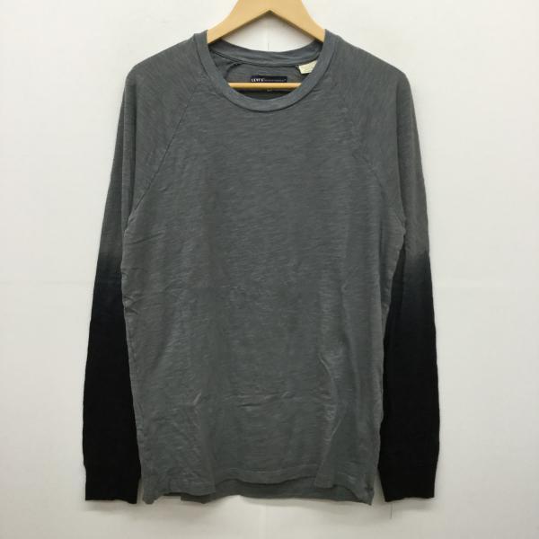 リーバイスメイドアンドクラフテッド Levi's Made Crafted 表記サイズ:1 灰 10019187 グレー 中古 男女兼用 [宅送] Tシャツ USED 古着