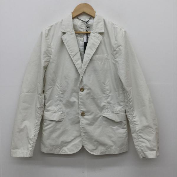 ディーゼル 人気ブランド DIESEL 表記サイズ:46 白 ホワイト 無地 USED ジャケット 中古 10019678 割り引き 上着 古着