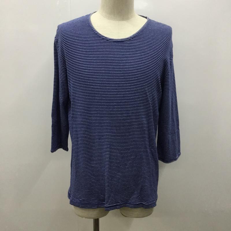 タケオキクチ TAKEO 情熱セール KIKUCHI 表記サイズ:4 ボーダー柄 Tシャツ 10021986 ロンT 古着 USED ショッピング 中古