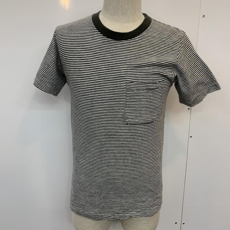 スタンダード マーケット カリフォルニア STANDARD CALIFORNIA 表記サイズ:S ボーダー柄 Tシャツ 10022246 人気上昇中 半袖Tシャツ 中古 古着 USED ボーダー