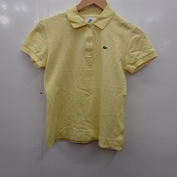 ラコステ LACOSTE 表記サイズ:40 発売モデル 無地 ポロシャツ NEW売り切れる前に☆ 半袖 USED ロゴマーク 中古 古着 10025438